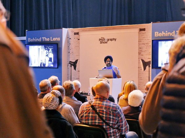 Gagan Sadana Speaking at The Photography Show