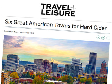 "Travel & Leisure:  ""Six Great American Towns for Hard Cider"" featuring the Finger Lakes Cider House! ""...A really lovely way that cidermakers are collaborating to create a cider hub...""  So happy to see our little town of Interlaken, NY, in the national press :-)"