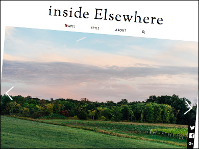 "Inside Elsewhere:  Finger Lakes Cider House in Interlaken, NY ""In recent years, the Finger Lakes has experienced a cider renaissance, with Finger Lakes Cider House at the epicenter... FLCH also stocks local cheeses, meats, honey, and snacks — perfect for a picnic under the apple trees outside."""