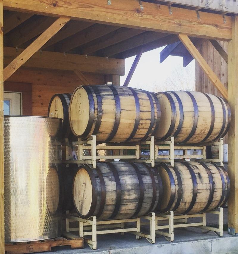 Barrel Rye '15 aging