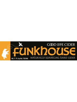 Funkhouse '15 $15/bottle, case discount 15% This one is a little out of the box. A little cloudy, a little funky.  Refreshing acidity. Aging on the lees- this cider will change over time.