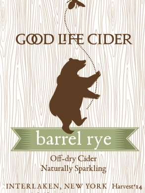 Barrel Rye '15 $18/bottle, case discount 15% 2015. Semi-dry. Champagne Method. Aged 4 months in Rye Whiskey barrels. Buttercream with a backbone. Oak and smoke and shalestone.
