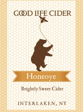 Honeoye '15 $16/bottle, case discount 15% 2015. Sparkling. Summer honey on the nose.  Bold Finger Lakes acidity smoothed with a sweet reserve. Lush ripe apples, thick, creamy and floral.  Bright juicy finish.