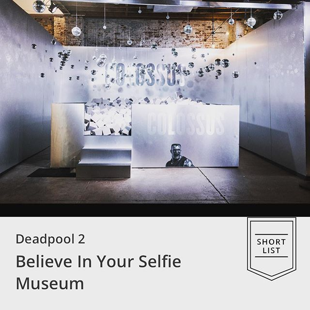 AND THE AWARD GOES TO...... Our Deadpool 2: Believe In Your Selfie Museum was shortlisted for the Clio Entertainment Awards in the experiential category. Thanks to @clioawards! . . . . . . . . . . . . #RubikMarketing #Rubik #ClioAwards #ClioEntertainment #Awards #Experiential #ExperientialMarketing #Activations #EventMarketing #Marketing #MarketingAgency #Agency #Accolades #Deadpool #Deadpool2 #BelieveInYourSelfie #RyanReynolds #Celebration #Nomination #Shortlist #YAY