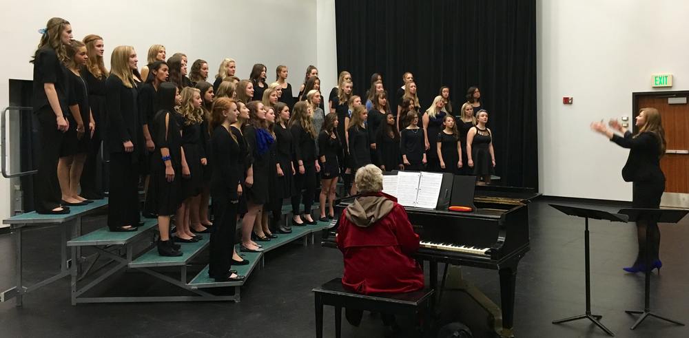 Festivals - Ralston Valley choirs have performed at numerous festivals since the school opened and each time receiving the highest ratings.