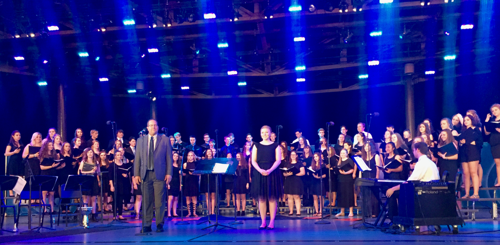 Walt Disney World - The Music Department has traveled to Orlando and Disney World every two years since the school opened in the fall 2000. The ensembles perform in the Disney World parks each visit to rave reviews.