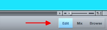 PreSonus Studio One Edit View Button