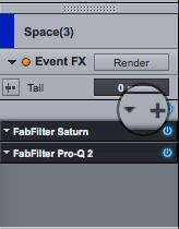 PreSonus Studio One Add FX Chains