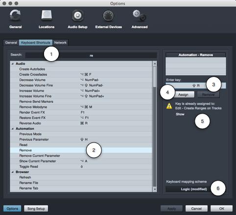 PreSonus Studio One KS Modify