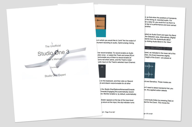 The Unofficial Studio One 3 Manual In PDF Format Free From – User Manual Format