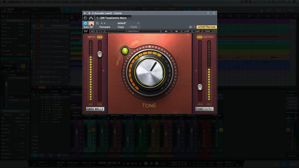 Waves ToneCentric