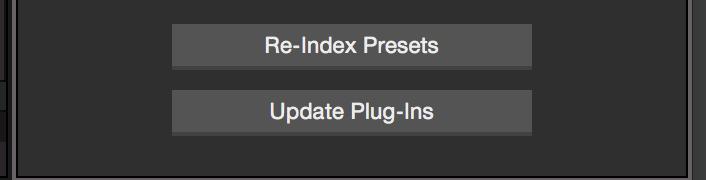 Reindex Plugins Studio One