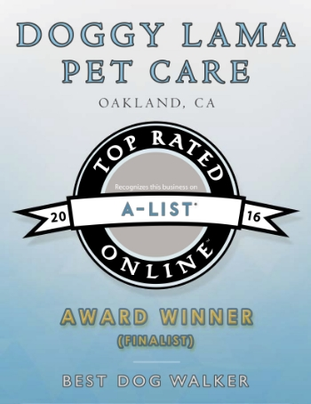 Best Dog Walker 2016 Bay Area A-List