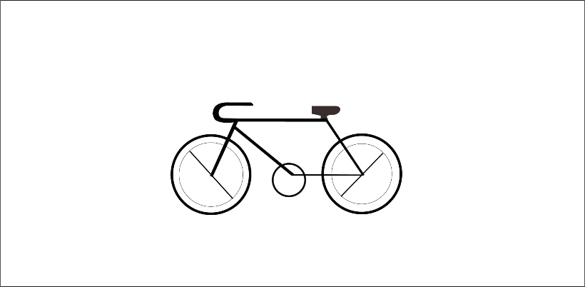 Bike done in Illustrator