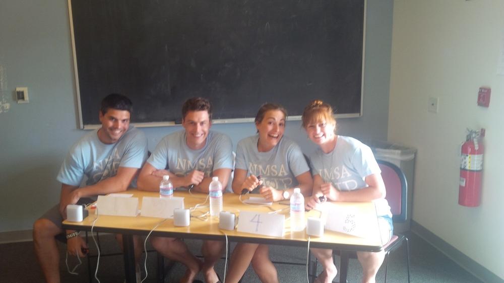 My brilliant teammates down in San Diego!