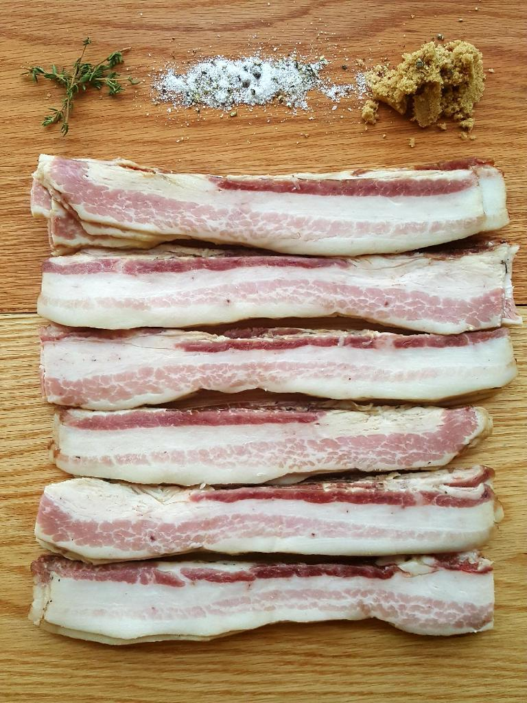 Our famous brown sugar bacon.