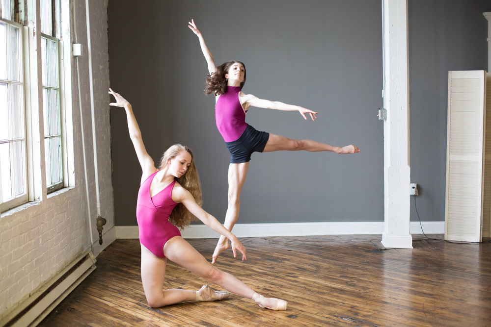 Dayton & Cincinnati OH Dance Studio Portrait Photographer, Dance Studio Photography, Ballet Studio Photographer, Modern Dance Studio Photographer, Fine Art Dance Portraits.