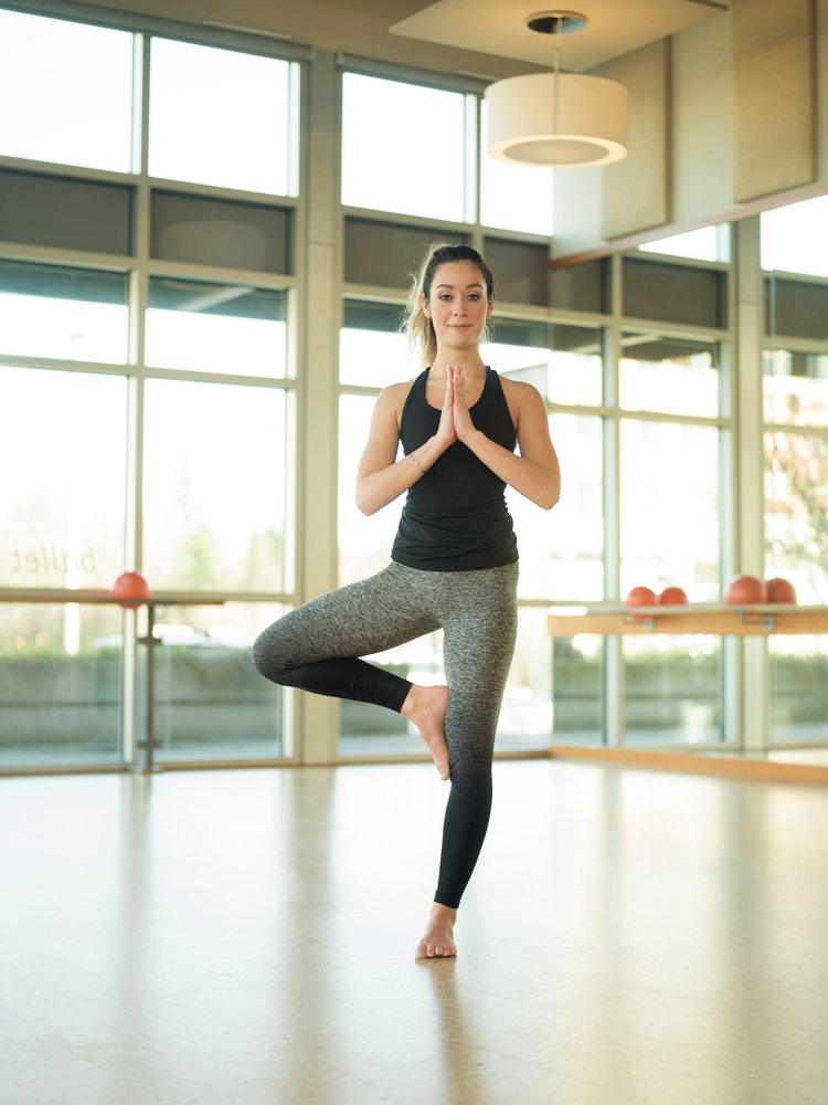 Barre3 Yoga studio photography