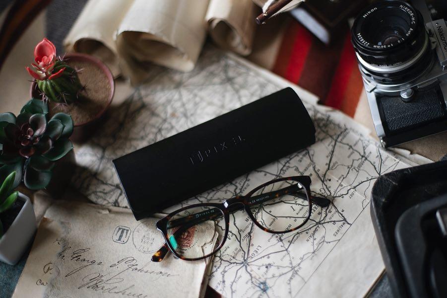 Eyeglasse photography