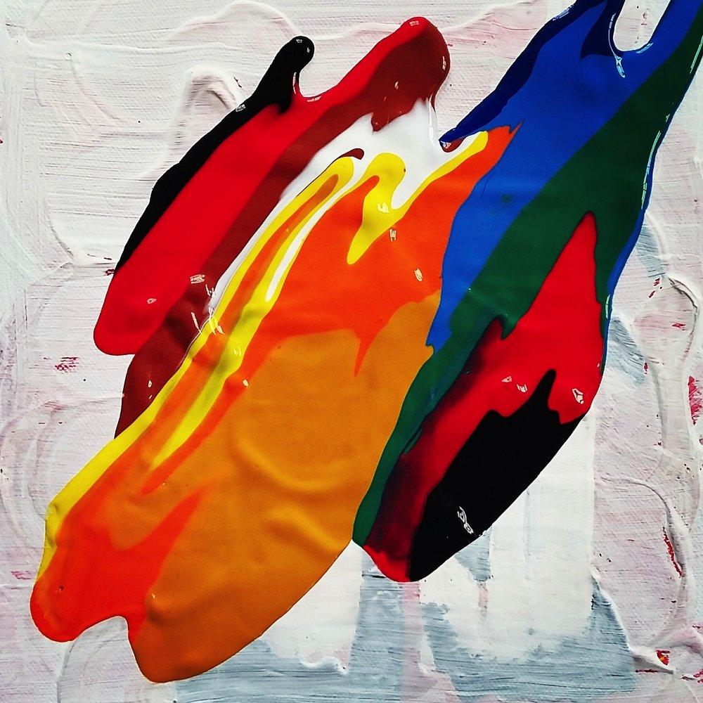 Untitled, 2016   Acrylic on Canvas,  25.5cm X 36cm