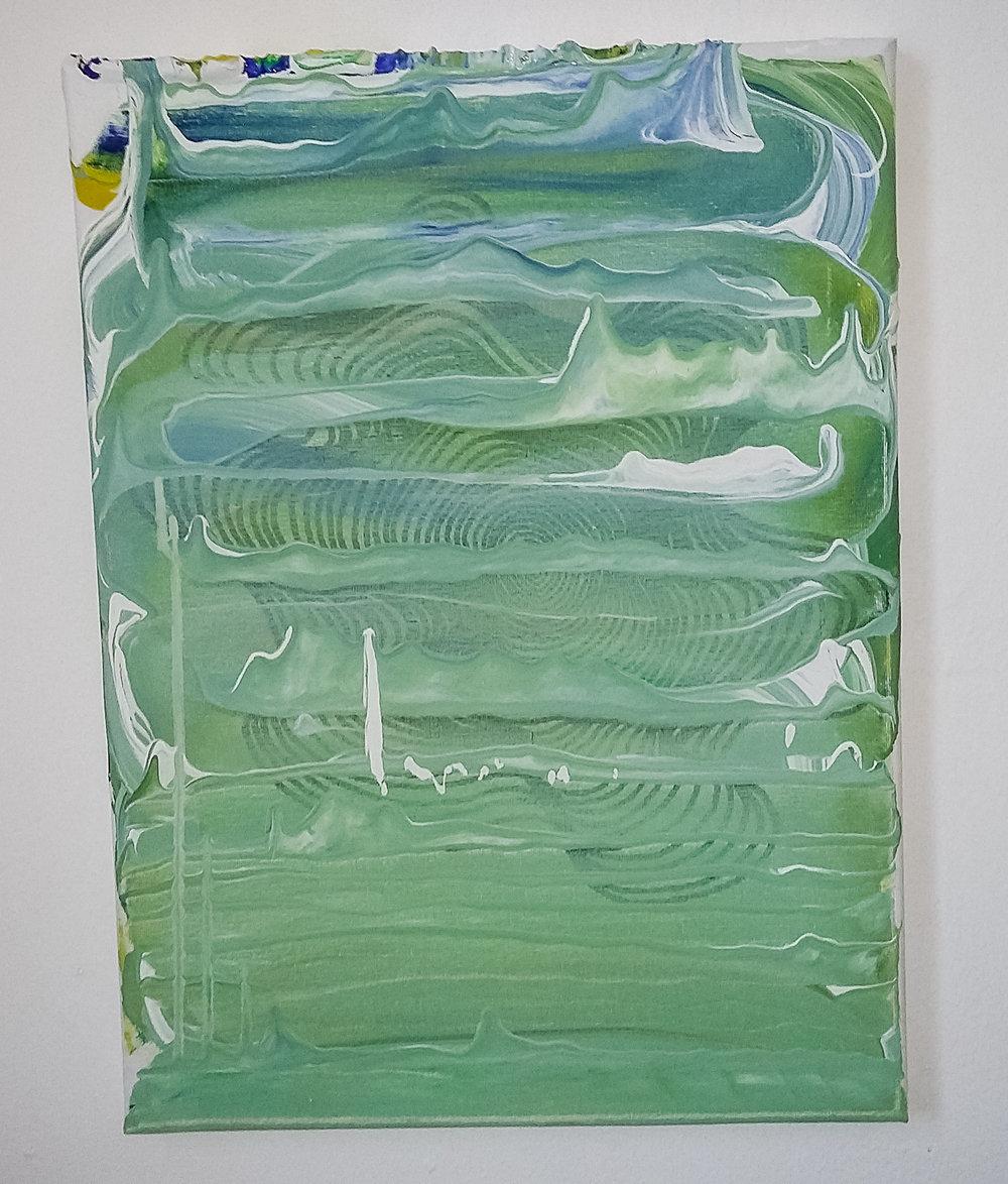 Untitled, 2016   Acrylic on Canvas,  31cm x 41cm