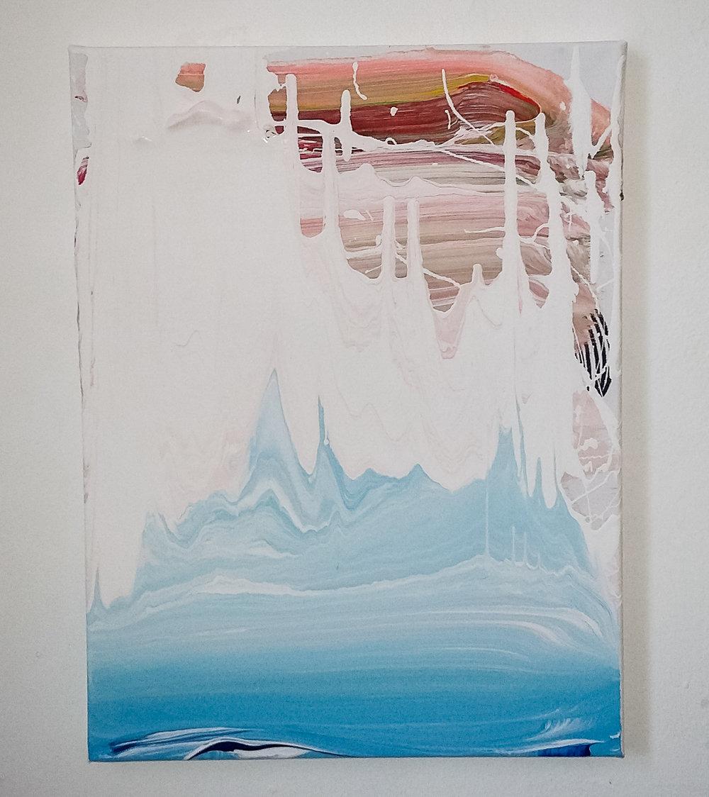 Swell, 2016   Acrylic on Canvas,  31cm x 41cm