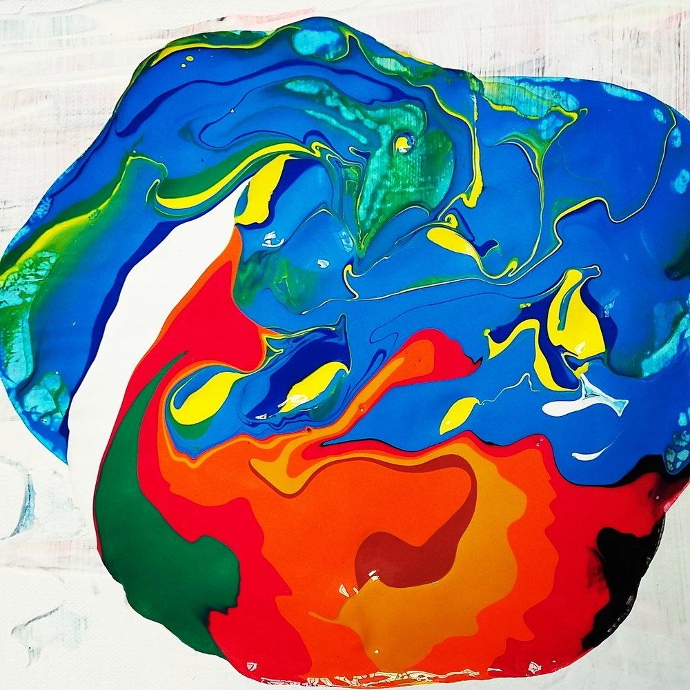 Drifter, 2016   Acrylic on Canvas,  25.5cm X 31cm