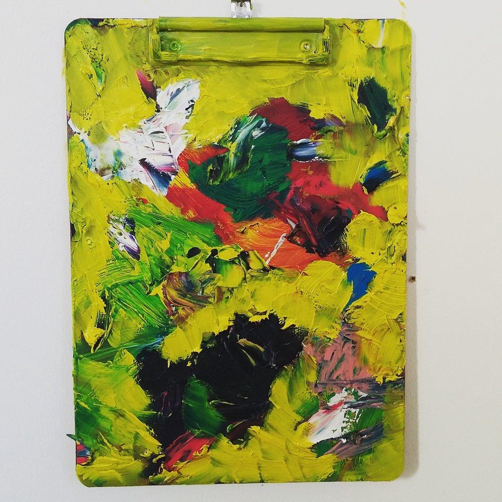 Spring, 2015   Oil on Clipboard  23cm X 32cm
