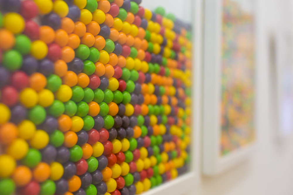 Just a few stolen everlasting gobstoppers, 2015   Everlasting Gobstoppers, frame  The MART Gallery, Dublin (IE)