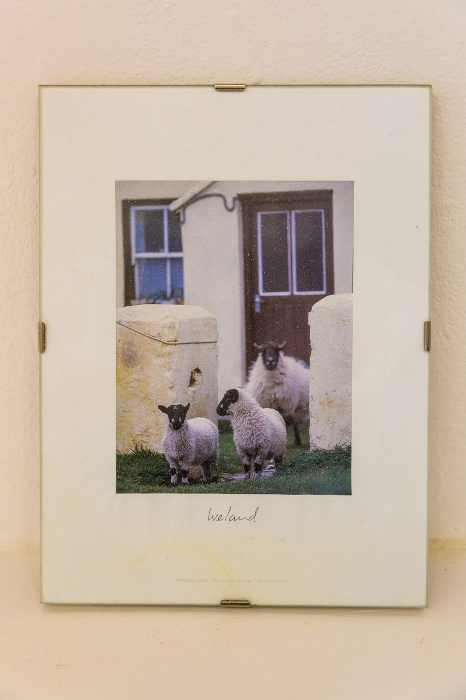 Ireland, found object, 2015   Found photograph framed