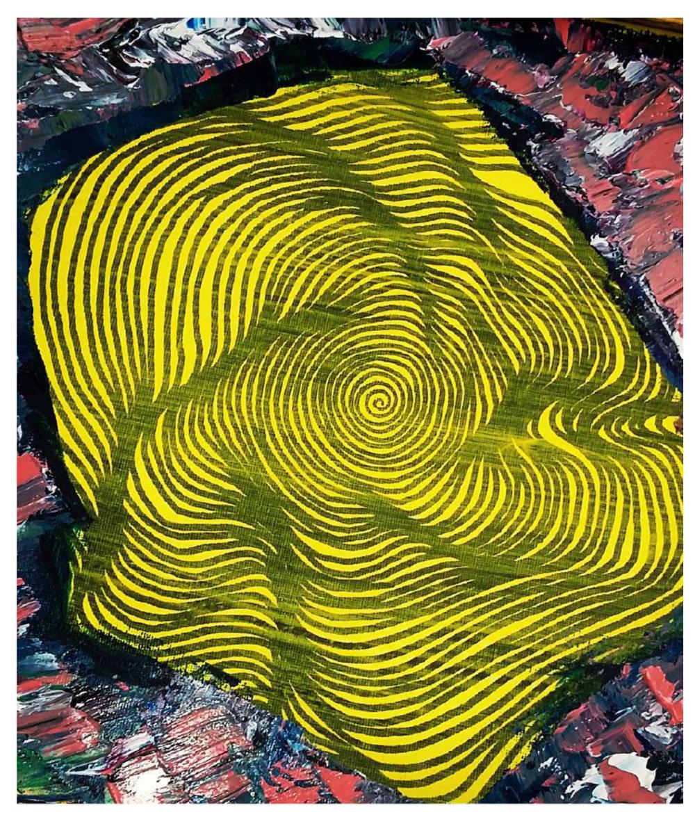 Yellow Blanket, 2014   Oil on Canvas  31cm X 41cm