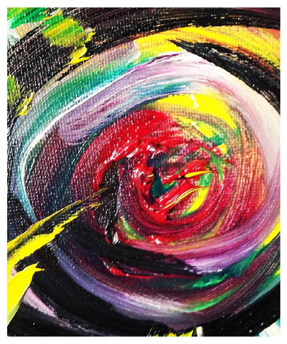 Eye, 2014   Oil on Canvas