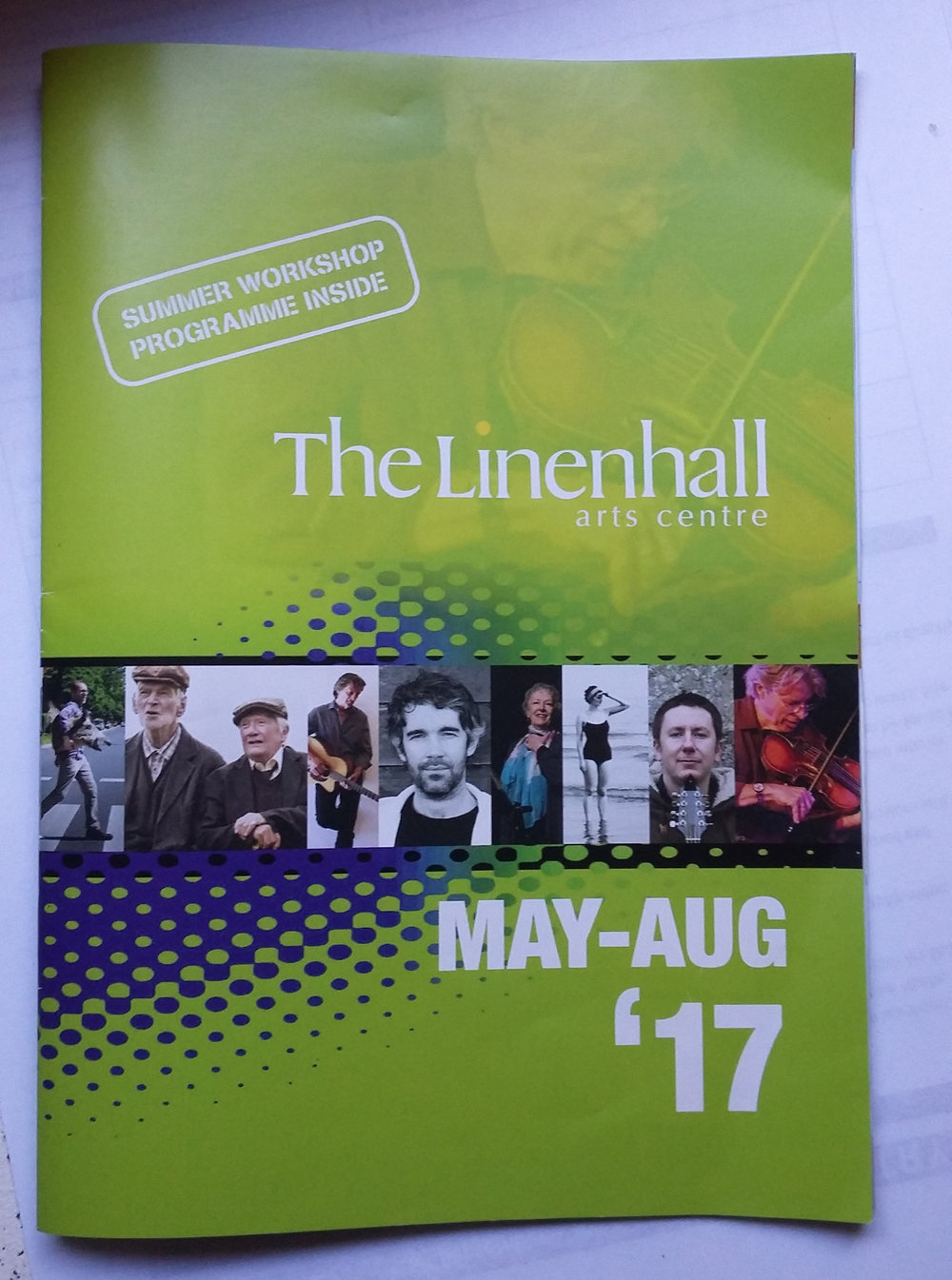 The Linenhall Arts Centre Summer Catalogue (IE) - The Fool by the RoadsideSolo Exhibition, 2017
