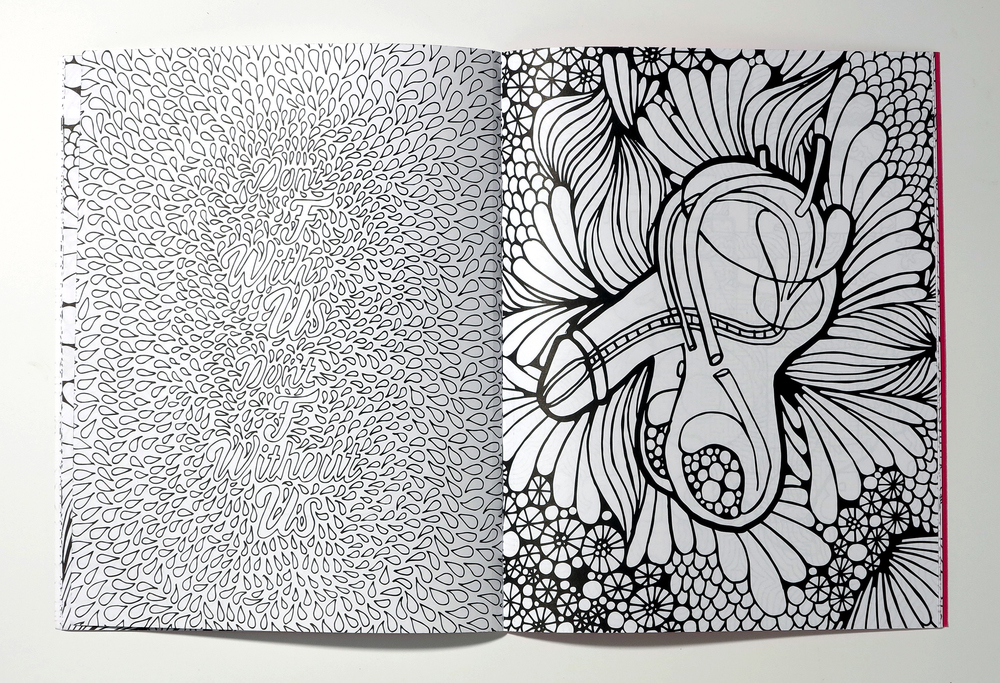 PLANNED PARENTHOOD COLORING BOOK — Visual Aid Society