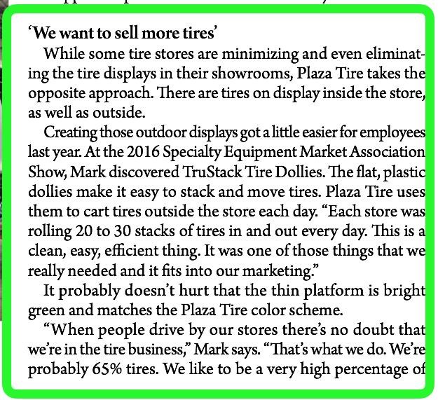 Screenshot of the excerpt
