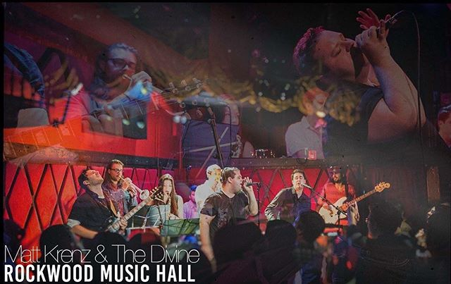 Tonight! Hitting Rockwood Stage 2 at 11pm with @mattkrenzandthedivine ! #santacon