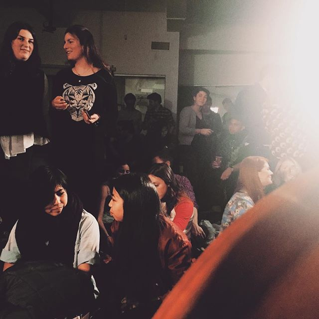 View from the office tonight. #packedhouse @sofarnyc @mattkrenzandthedivine #goesacoustic