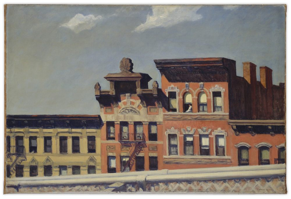 Edward Hopper - From Williamsburg Bridge, 1928
