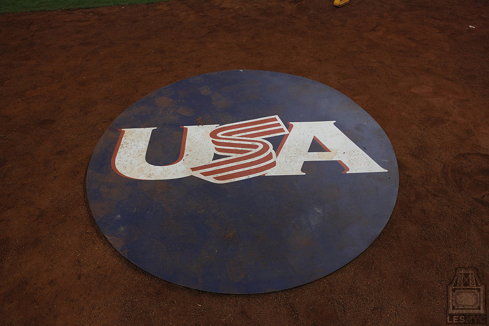 USA on-deck circle