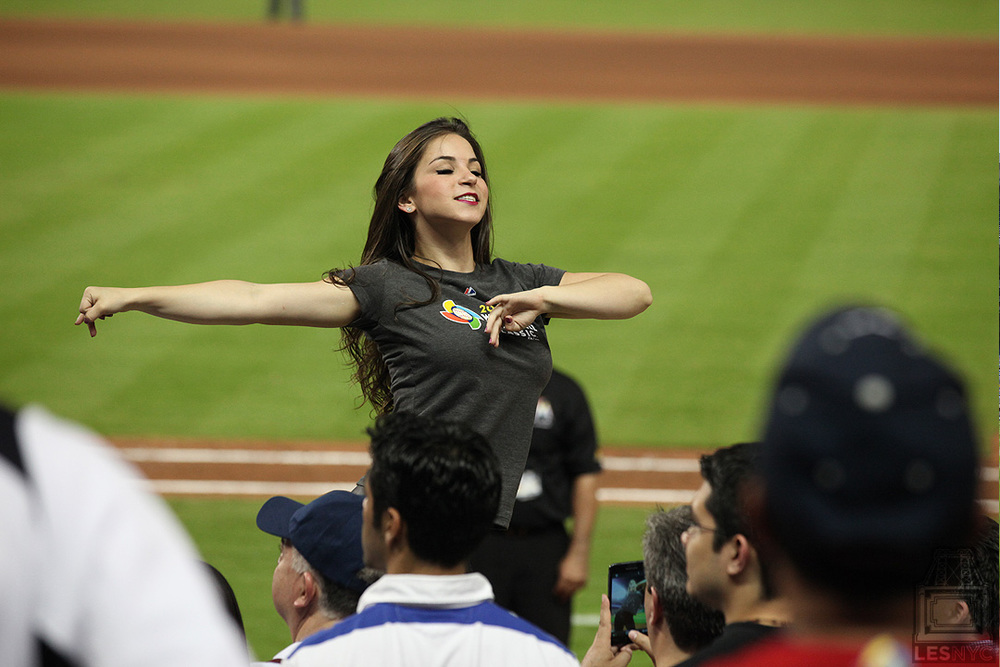 Marlins Park Dancer