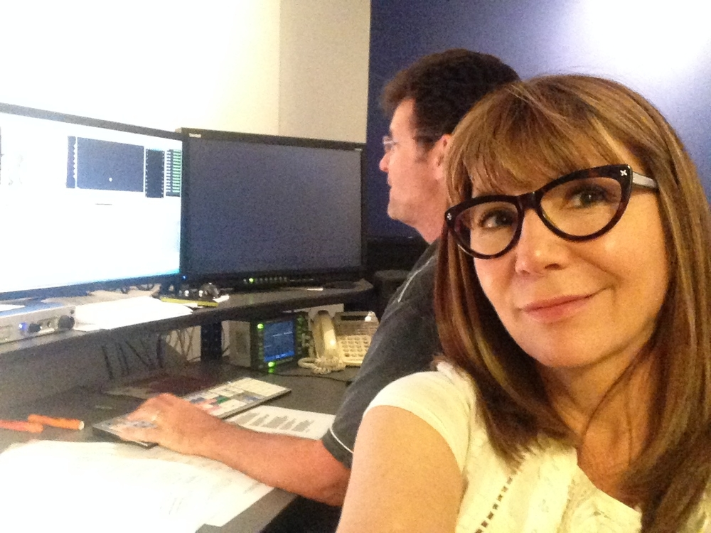 IN THE EDIT BAY AT CRIME WATCH DAILY
