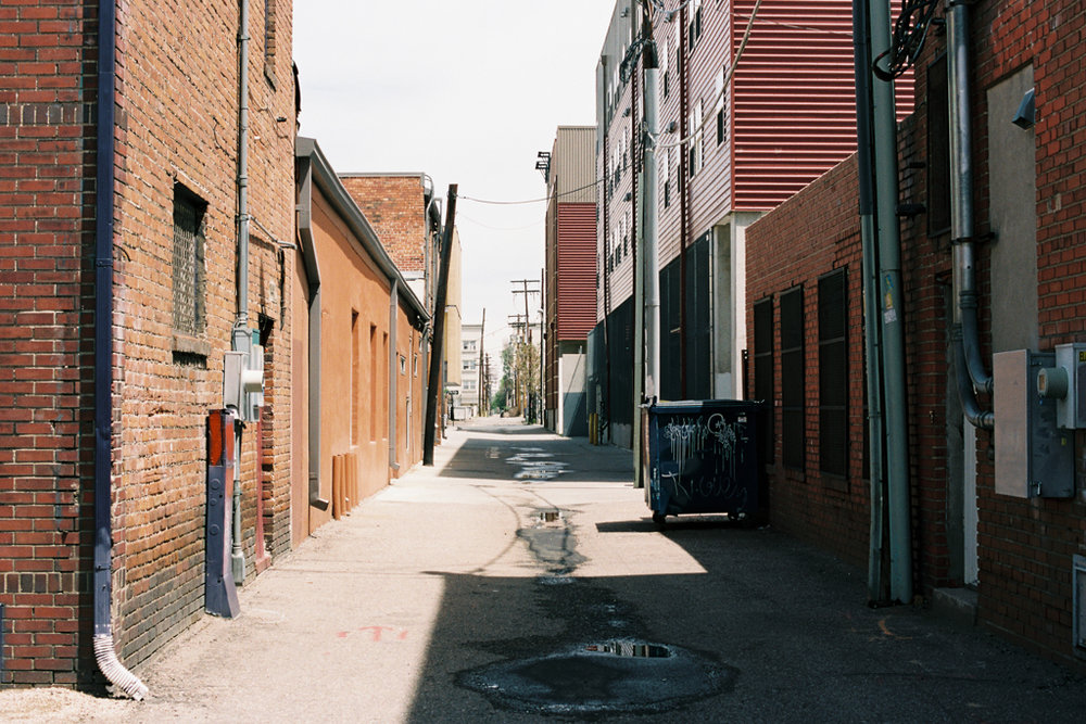 Denver Alley (8x12)