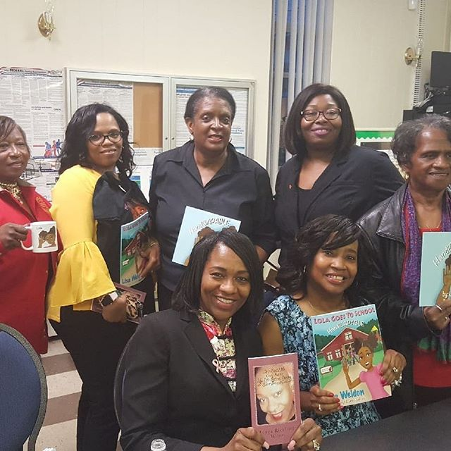 It is always wonderful to be in the presence of powerful women. I am pictured here with the National Association of Negro Business and Professional Women's Club. Thank you for allowing me to share my story.
