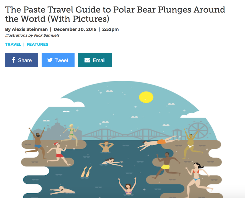 Polar Bear Plunges Around The World