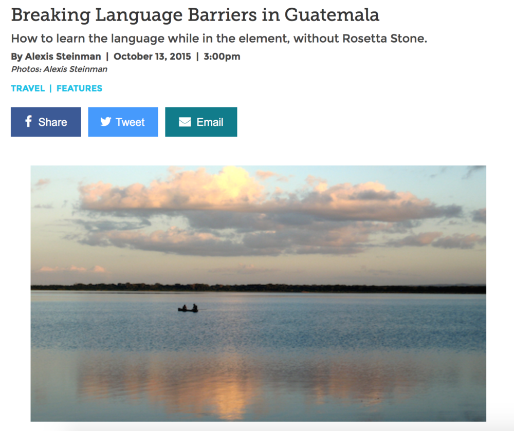 Breaking Language Barriers In Guatemala