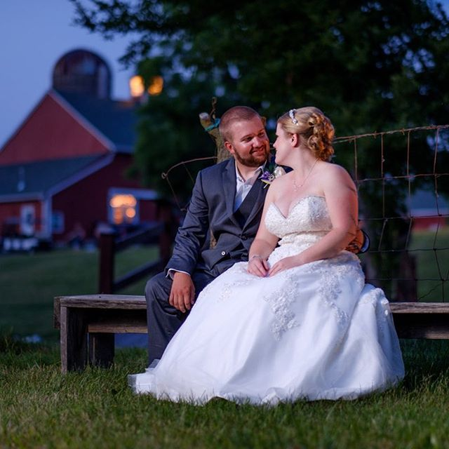 Congratulations Lauren and Thomas! #lowlightphotography #brideandgroom #love #wedding #indianapolisweddingphotographer #indianapoliswedding #twilightwedding
