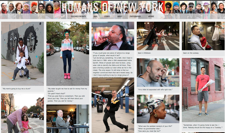 Humans Of New York The Road Is Life