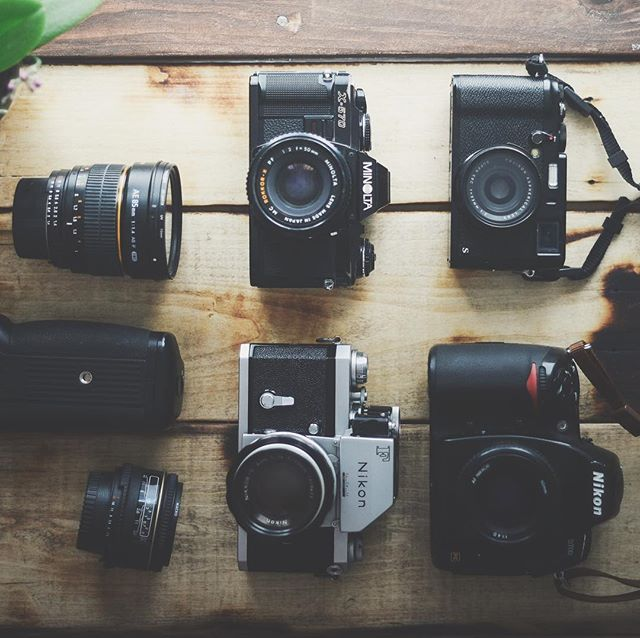 These are my work horses. 90% of our images come from these cameras. Don't forget about #film #analog !
