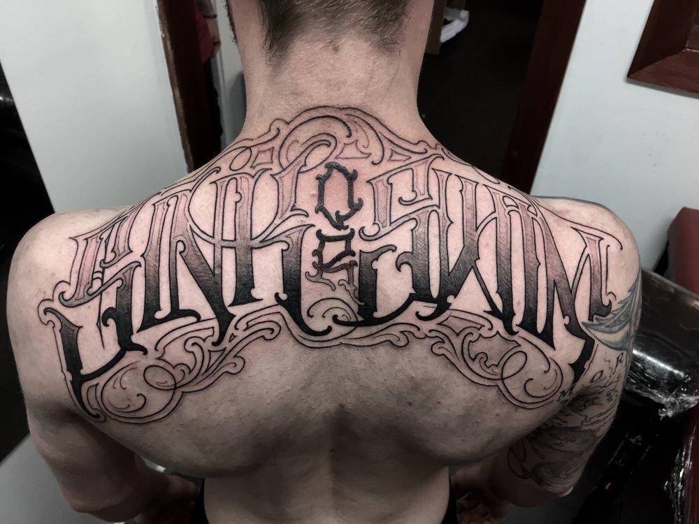 Beau Newman tattoo artist adelaide