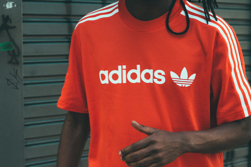 Adidas® - Logo Design: 3 leaves and 3 stripes
